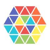 Logo de couleur dans la conception plate pour l'icône illustration de vecteur