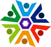 Logo de couples photographie stock