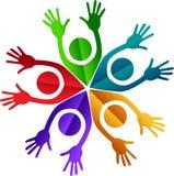 Logo de couples Image libre de droits