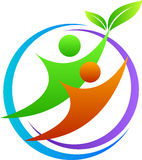 Logo de couples illustration stock