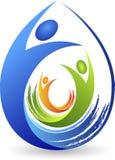 logo de couples Images libres de droits