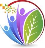 logo de couples illustration de vecteur