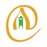 Logo de courrier Photo libre de droits