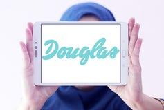 Logo de détaillant de cosmétiques de Douglas Photographie stock libre de droits