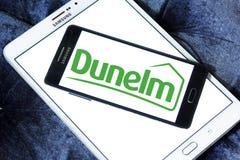 Logo de détaillant de groupe de Dunelm Photos stock