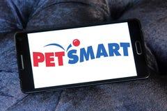 Logo de détaillant de PetSmart Photo libre de droits