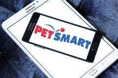 Logo de détaillant de PetSmart Photos stock