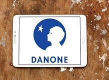 Logo de Danone images libres de droits