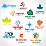 Logo de descripteur Photos stock