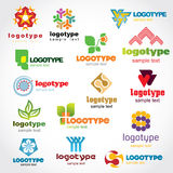 Logo de descripteur Image libre de droits