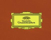 Logo de Deutsche Grammophon Photographie stock