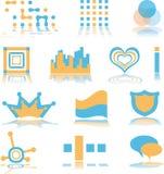 Logo de distributeur intégrant son logiciel au matériel Photo stock