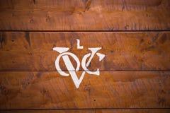 Logo de Dutch United East India Company Image stock