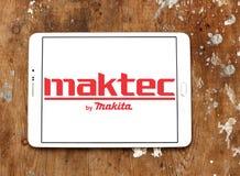 Logo de fabricant de machines-outils de Maktec Image stock