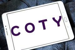 Logo de fabricant de produits de beauté de Coty Images libres de droits