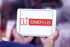 Logo de fabricant de smartphone d'OnePlus Photo stock