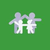 Logo de famille Photo stock