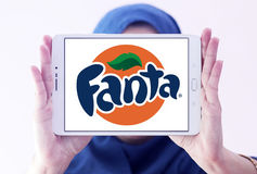 Logo de Fanta Images stock