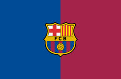 Logo de FC Barcelona Photo stock