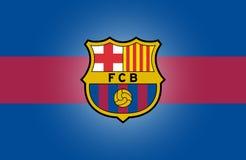 Logo de FC Barcelona illustration stock