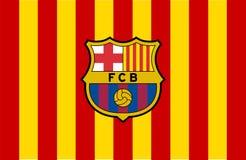Logo de FC Barcelona illustration libre de droits