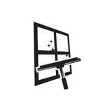 Logo de fenêtre de nettoyage Image stock