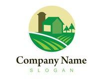 Logo 1 de ferme Photos stock