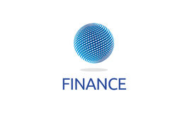 Logo de finances Illustration de Vecteur