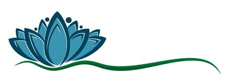 Logo de fleur illustration stock