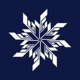 Logo de flocon de neige de hockey sur glace illustration de vecteur