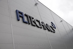 Logo de FLTechnics Images libres de droits