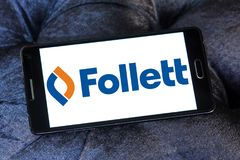 Logo de Follett Corporation Photographie stock libre de droits
