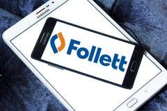 Logo de Follett Corporation Photo stock