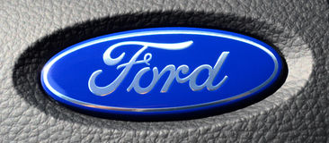 Logo de Ford photo libre de droits