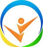Logo de forme physique illustration libre de droits