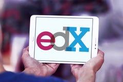 Logo de fournisseur de cours d'EdX Photographie stock