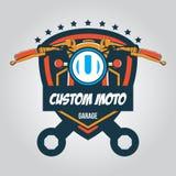 Logo de garage, illustration de vecteur Image libre de droits