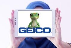 Logo de GEICO Insurance Company Images libres de droits