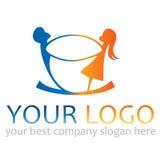 Logo de gens Images libres de droits