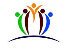Logo de gens Photo stock
