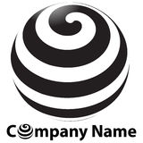 Logo de globe Photographie stock libre de droits