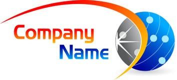 Logo de globe Photographie stock
