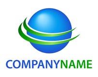 Logo de globe Images libres de droits
