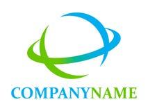 Logo de globe et élément de graphisme Photo libre de droits