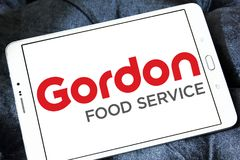 Logo de Gordon Food Service Images libres de droits