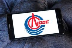 Logo de groupe de CNOOC Photographie stock libre de droits