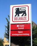 Logo de groupe de Delhaize Images libres de droits