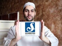 Logo de groupe de media de Schibsted Photos libres de droits