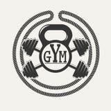 Logo de gymnase Images libres de droits