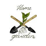 Logo de jardin illustration libre de droits